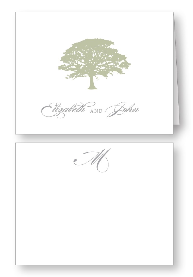 Spanish Moss Thank You Card