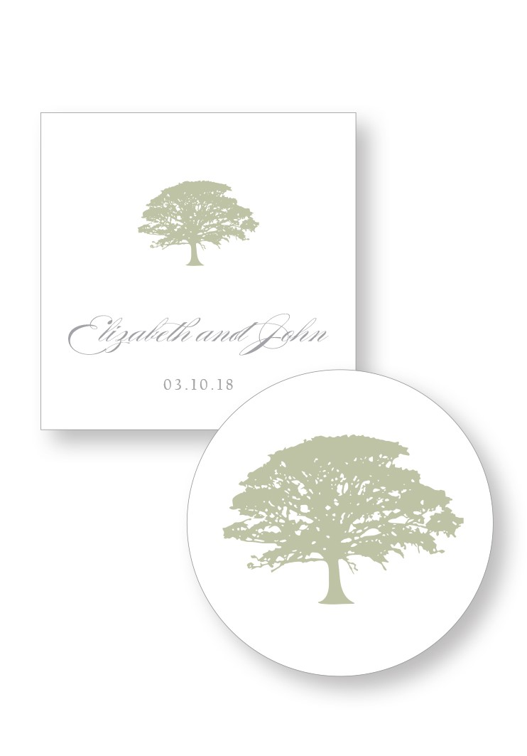 Spanish Moss Welcome Box Sticker