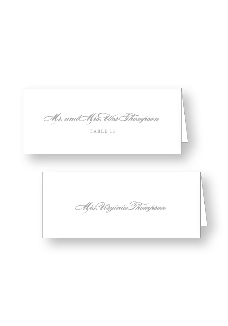 Spanish Moss Place Cards