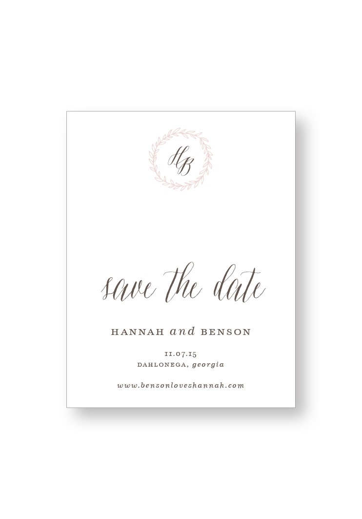 Queen Anne's Lace Save the Date