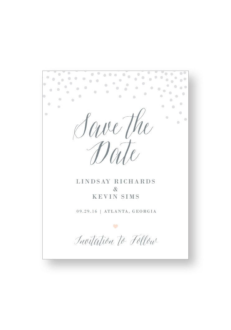 Silver Dust Save the Date