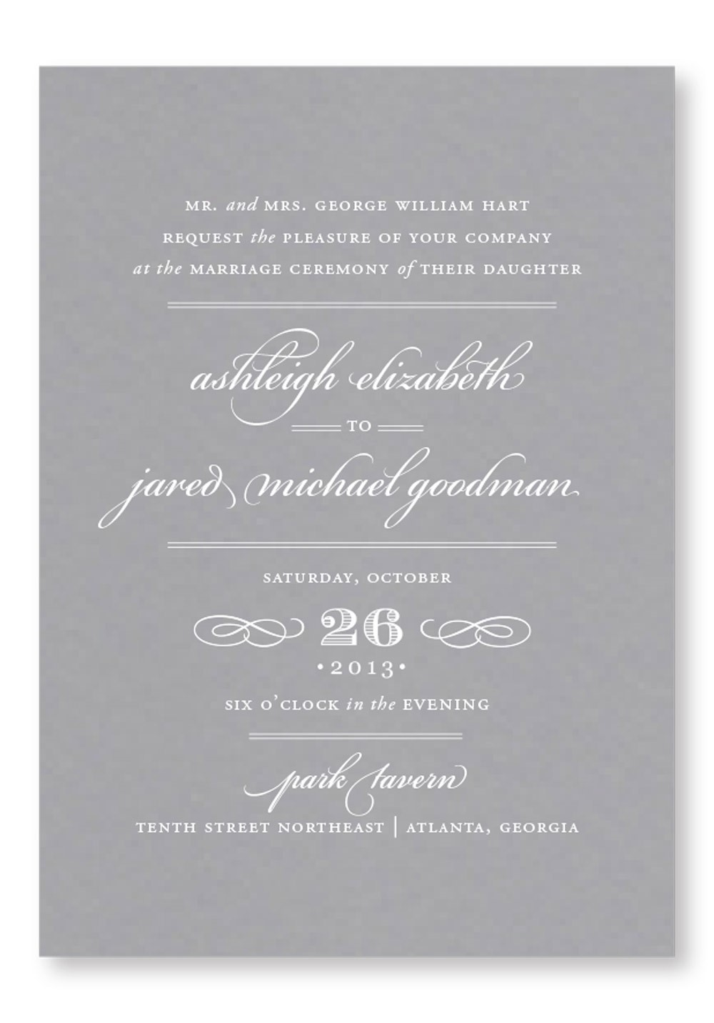 Daffodil Invitation Suite