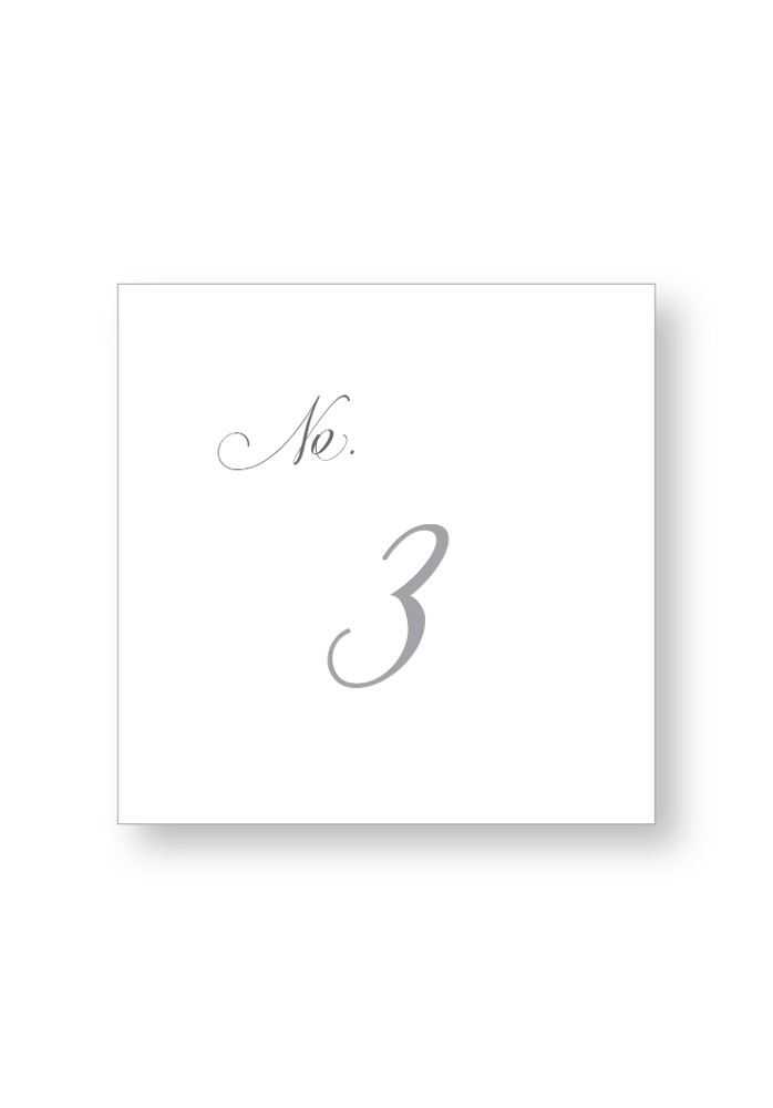 Cottonwood Table Numbers