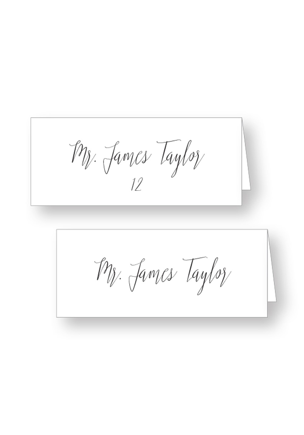 Dogwood | Whimsical Seating Place Cards | Paper Daisies Stationery