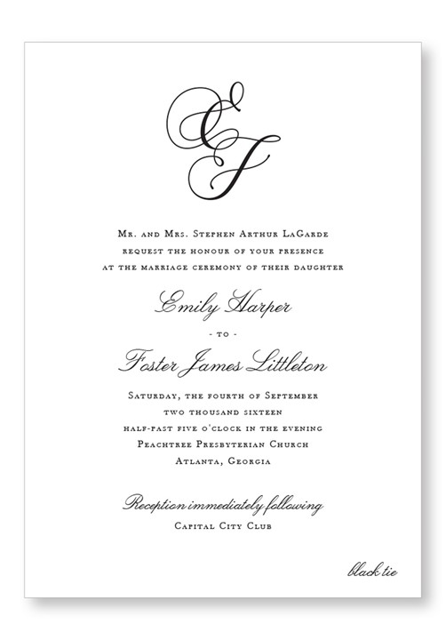 Jasmin Invitation Suite
