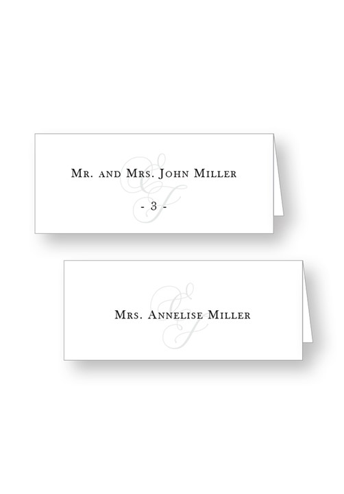 Jasmin Place Cards