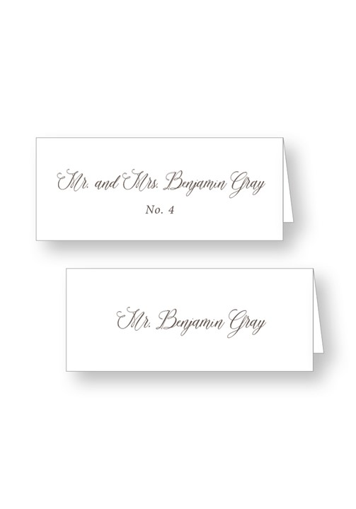 Boxwood Place Cards