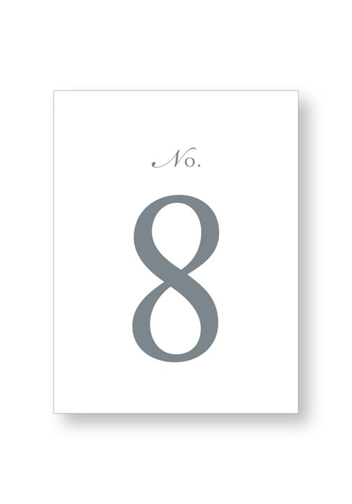 Sweet Pea Table Numbers