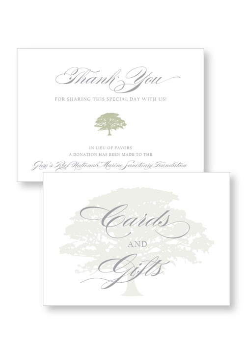 Ceremony & Reception Small Signage