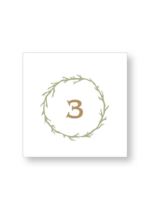 Willow Table Numbers