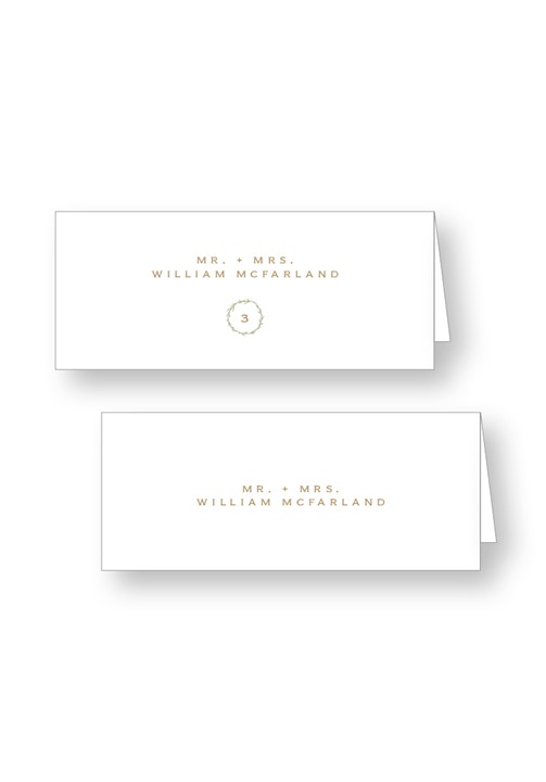 Willow Escort Cards