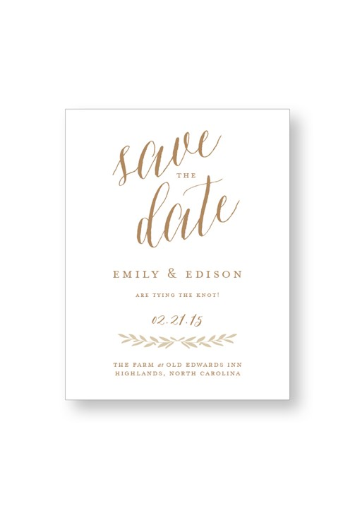 Birch Save the Date