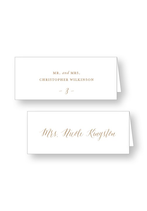 Birch Place Cards