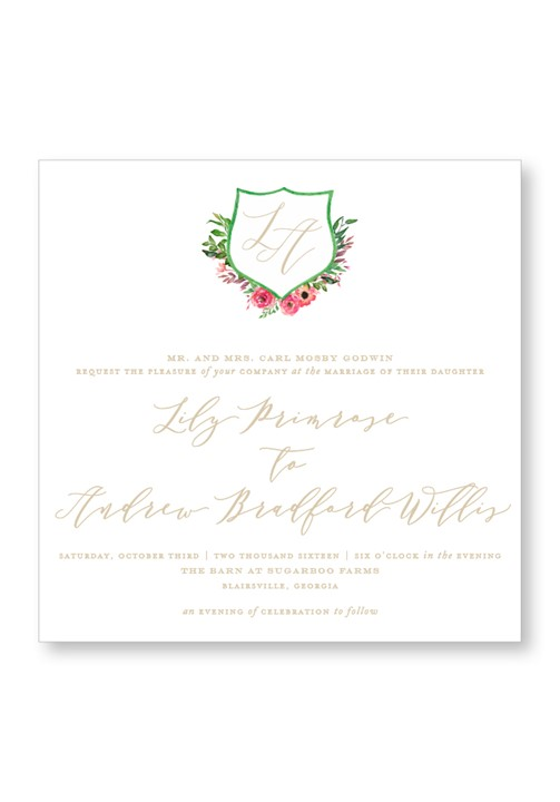 Amaryllis Invitation Suite