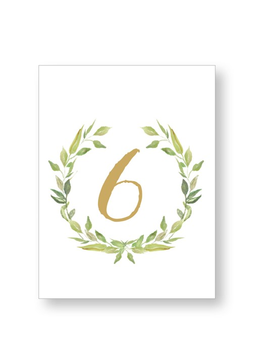 Laurel Table Numbers