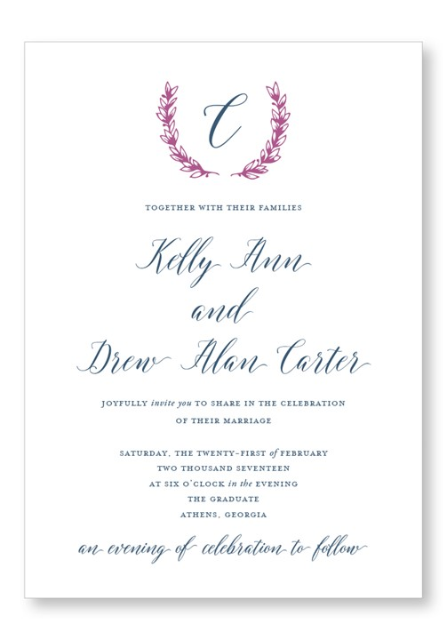 Berry Invitation Suite