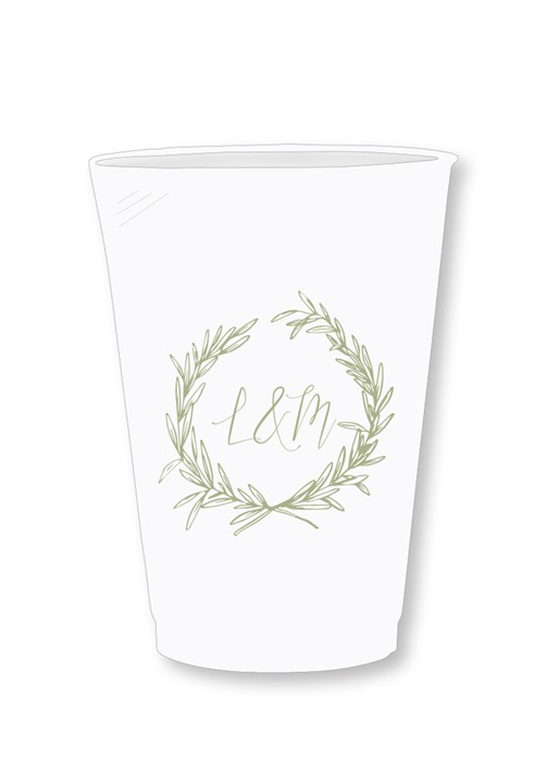 Branch Frosted Cups