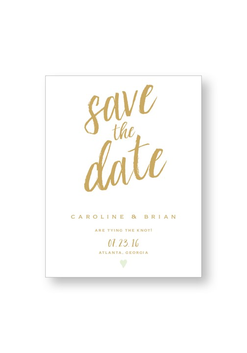 Mint Save the Date