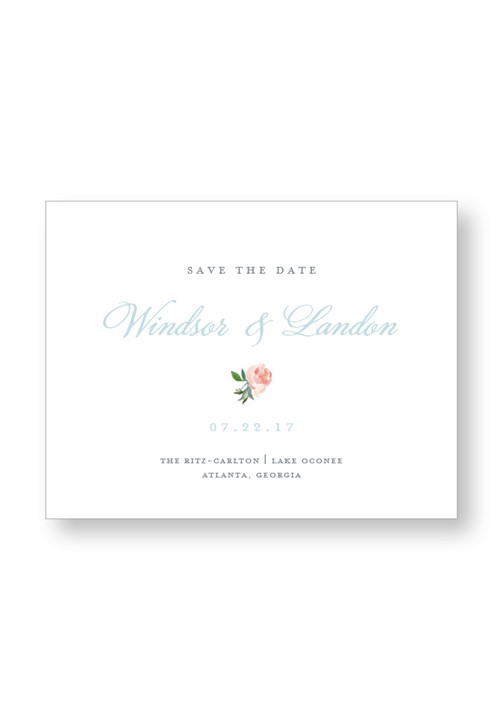 Cotton Save the Date
