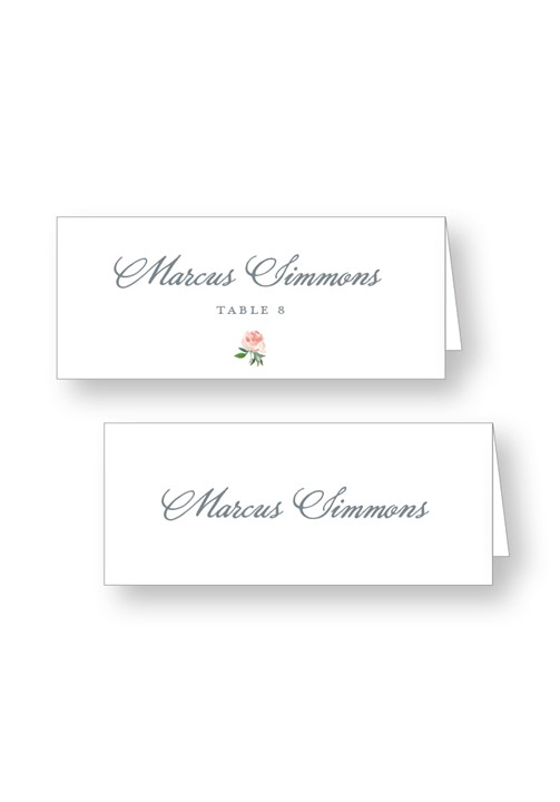 Cotton Escort Cards
