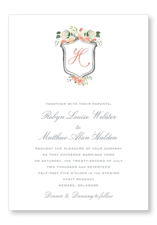 Hydrangea Invitation Suite