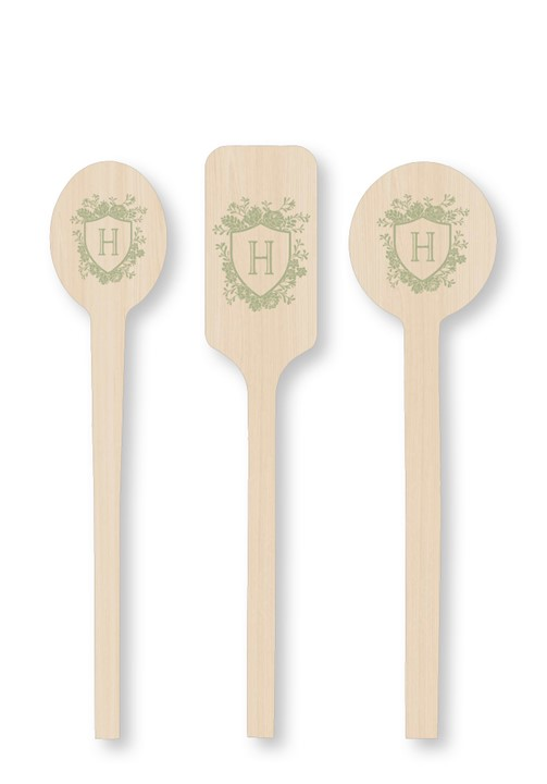 Succulent Cocktail Stirrers
