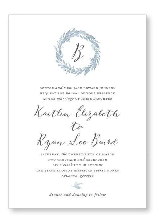 BlueBell Invitation Suite