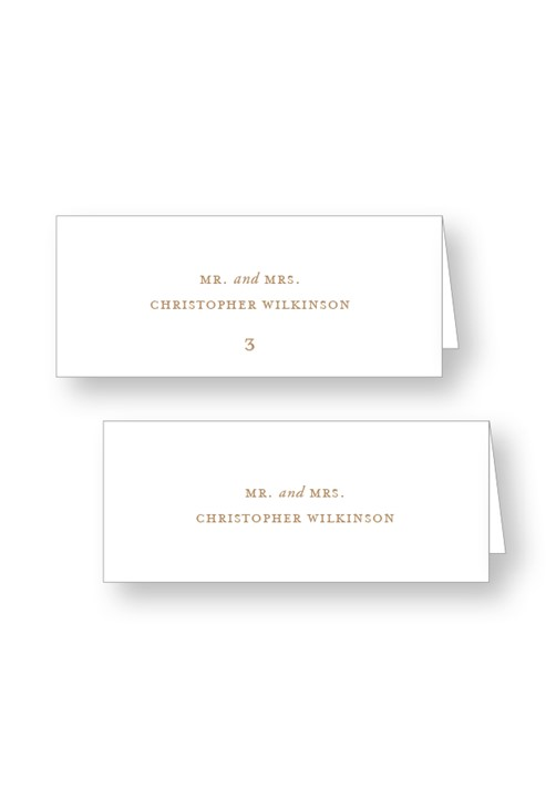 Palm Place Cards