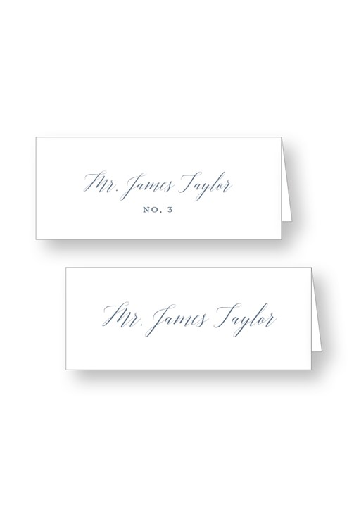 Bouquet Place Cards