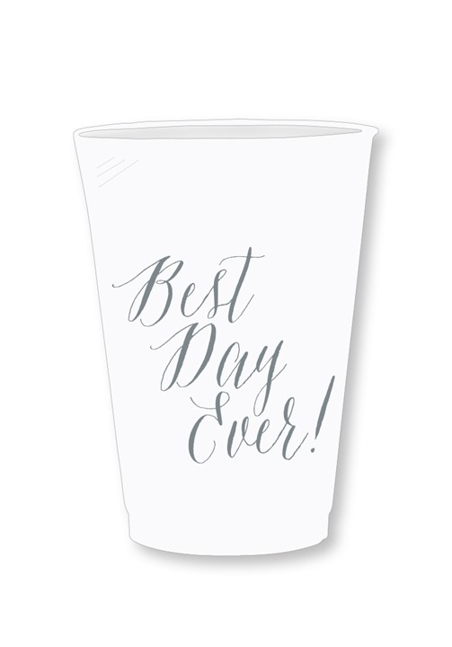 Silver Dust Frosted Cups