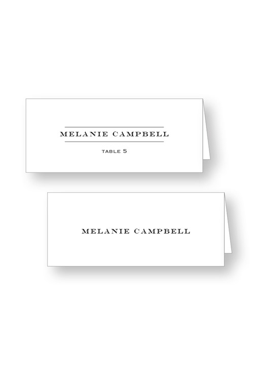 Brunia Place Cards