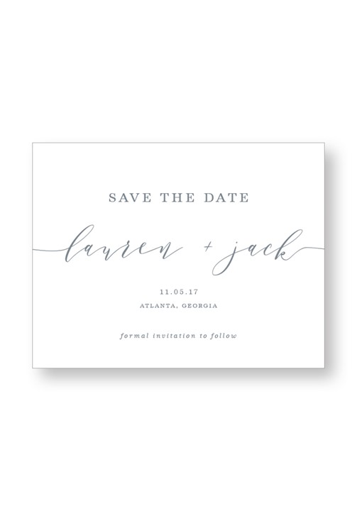 Dendrobium Save the Date
