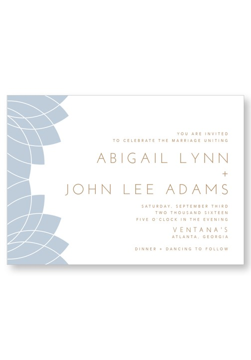 Water Lily Invitation Suite
