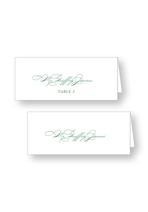 Callalily Place Cards