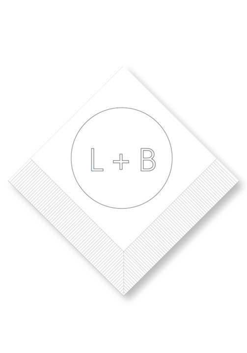 Orchid Cocktail Napkins