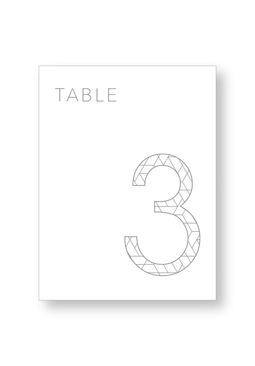Orchid Table Numbers