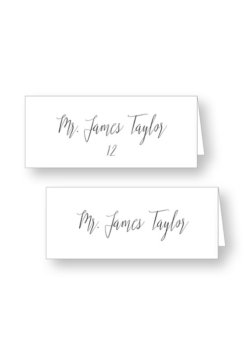 Dogwood Place Cards