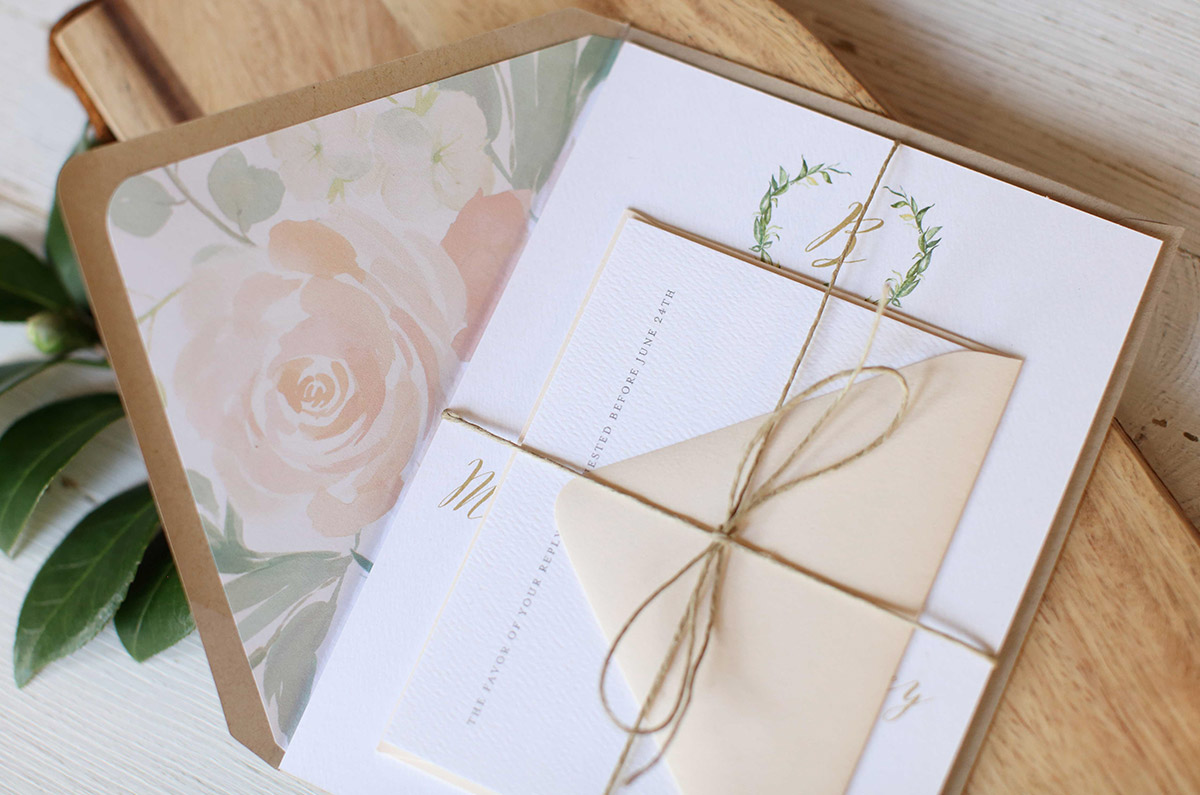 Wedding Invitations | Order Online | Stationary Blog | Paper Daisies